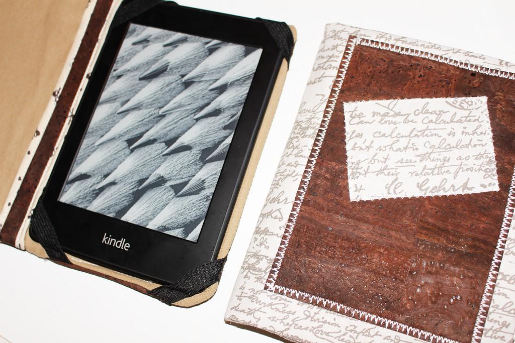 Kindle E-Book-Reader Hülle aus Kork