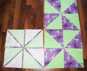 Tutorial Dreieckpatchwork
