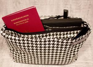 Taschenorganizer von Tina Blogsberg