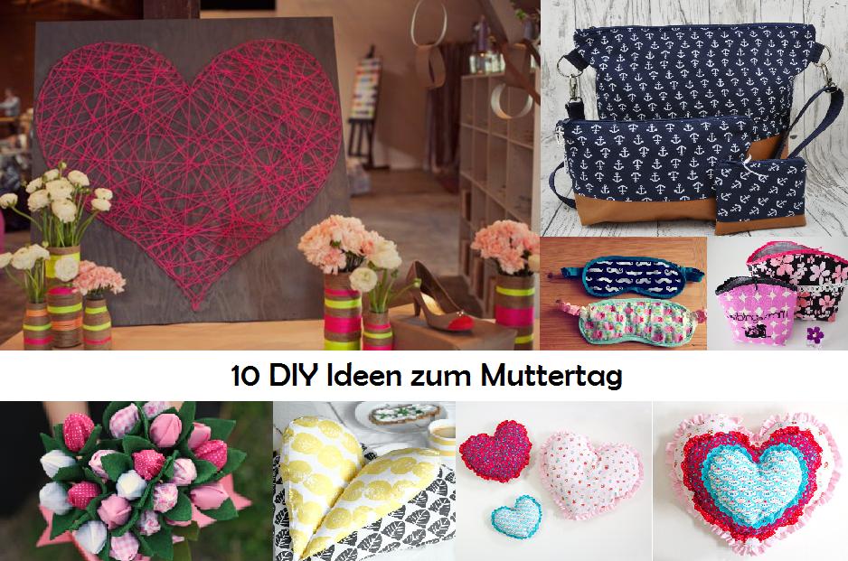 10 DIY Ideen zum Muttertag – kostenlose Anleitungen