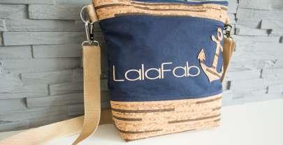 LalaFab-Tasche im maritimen Stil