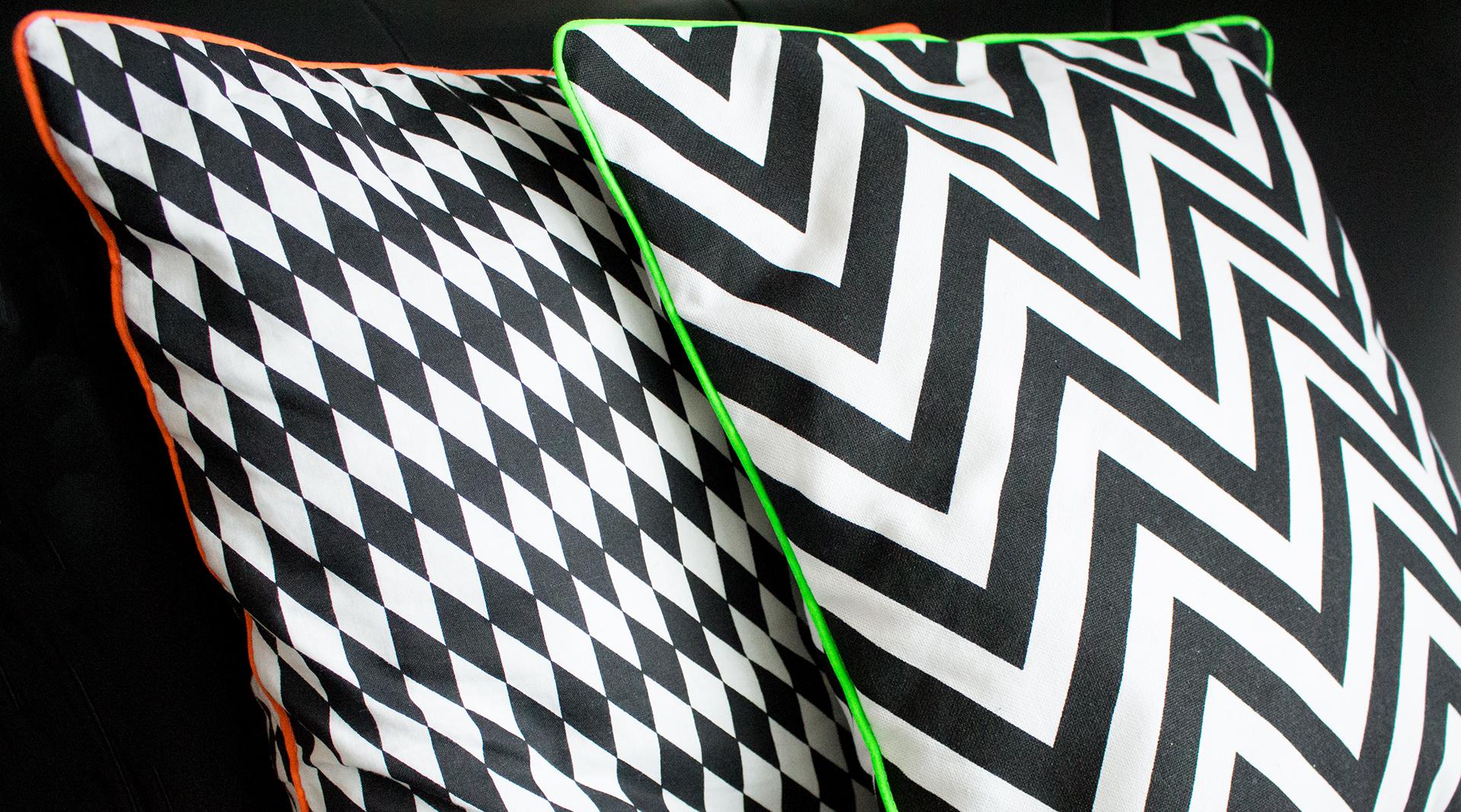 kissenh lle mit neonpaspeln tutorial lalafab. Black Bedroom Furniture Sets. Home Design Ideas