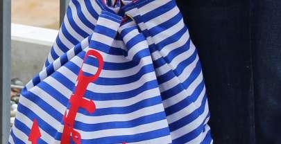 Freebie: Seesack im maritimen Style