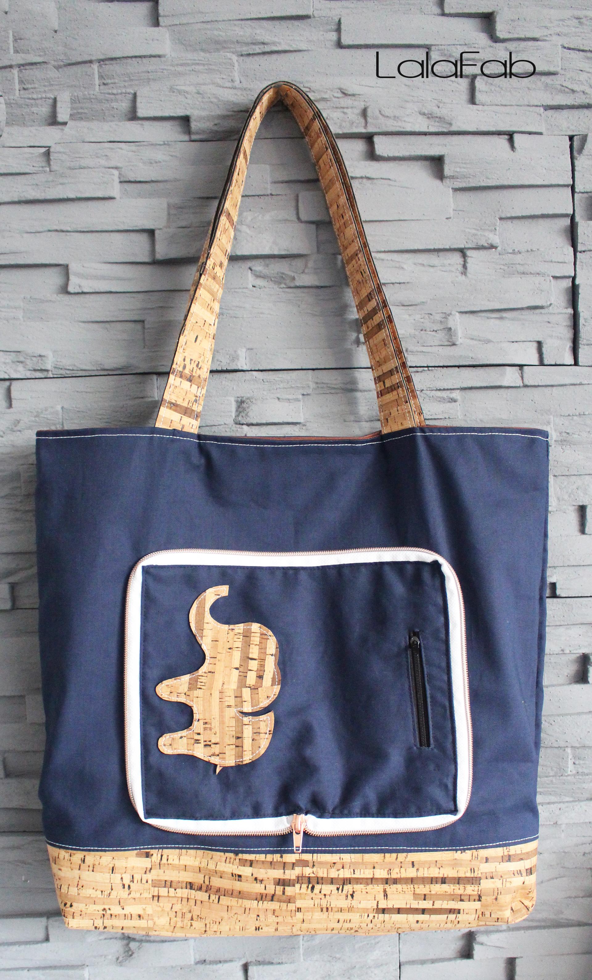 Einkaufstasche Calliope – Freebook von Tina Blogsberg