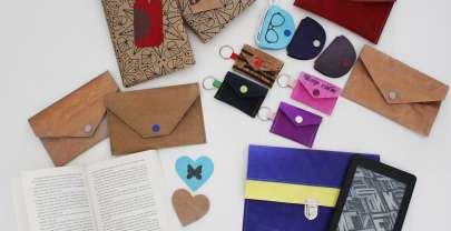 Schnelle DIY Geschenke aus SnapPap, Colartex und Korkstoff