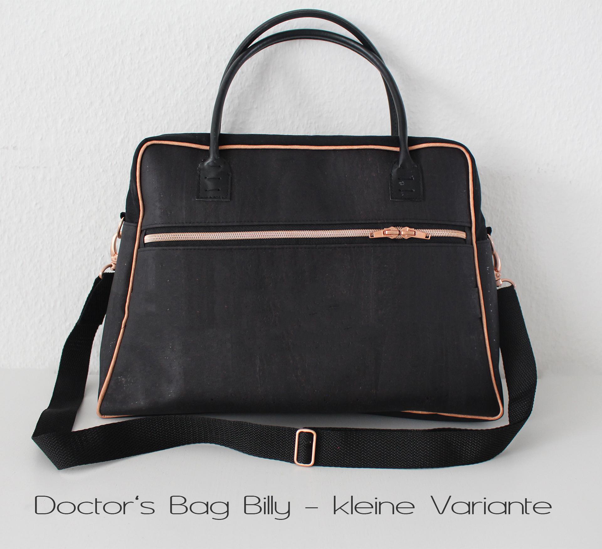 E-Book Handtasche Doctor\'s Bag Billy (zwei Größen) - LalaFab