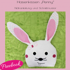 Freebook Hasenkissen