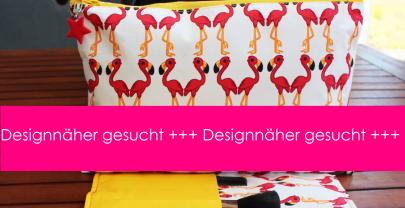 Designnäher gesucht – Kosmetiktasche Flappy