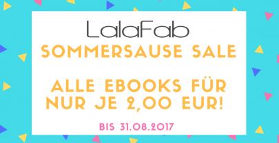 Sommersause Sale – Alle Ebooks für je 2 €!