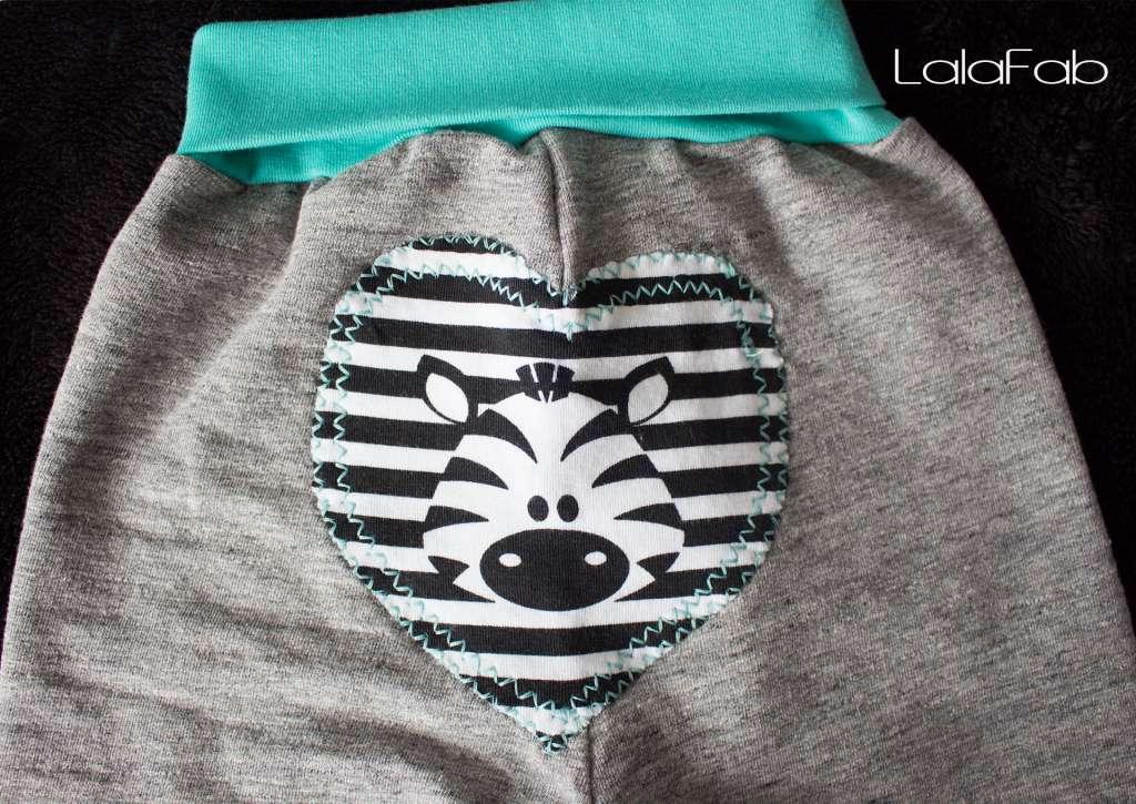 Babyset Zebra LalaFab