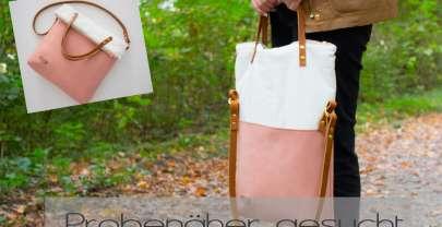 Probenäher gesucht – Tasche Carry