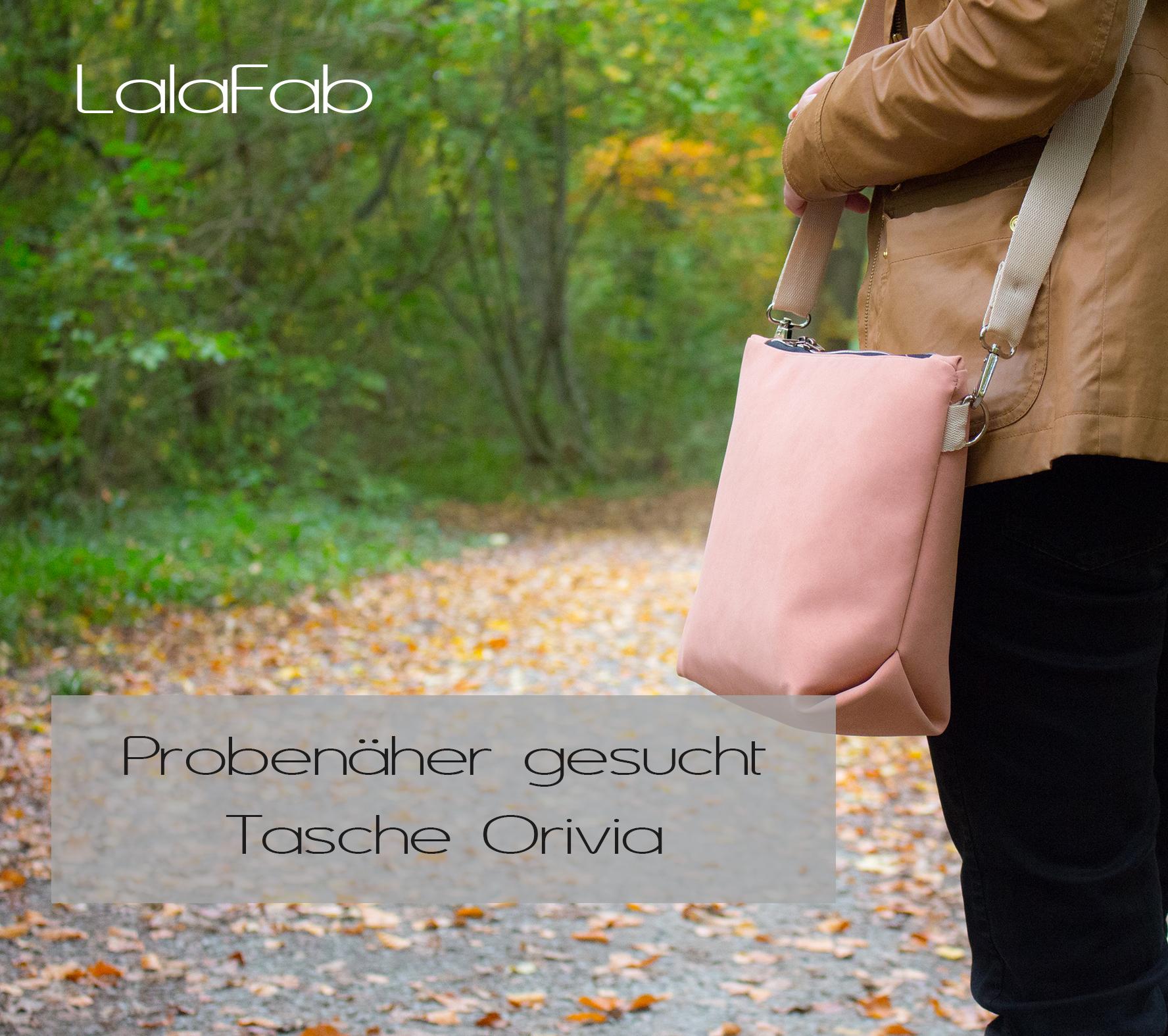 Probenäher gesucht – Tasche Orivia