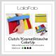 Neues Schnittmuster – Clutch/Kosmetiktasche ColorUp (in zwei Größen)