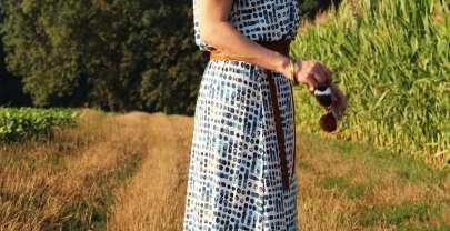Sommerkleid Ava – Probenähen für Frau Fadenschein (Werbung)
