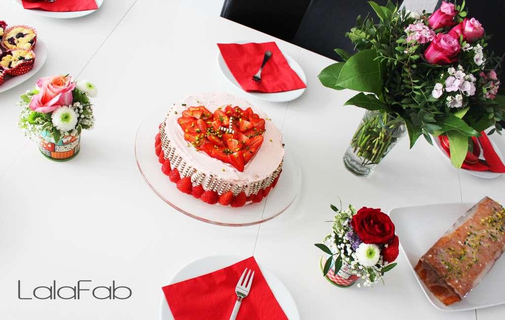Erdbeer-Sahne-Torten